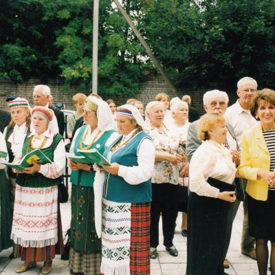 Karaliaučiaus lietuvybės puoselėjimo konferencijų programų dainos