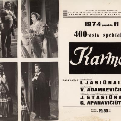 """G. Bizet """"Karmen"""""""