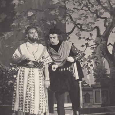 "G. Verdi ""Otelo"". Otelo - V. Adamkevičius, Jago - J. Stasiūnas"