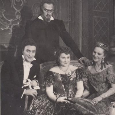 "Žermonas, G. Verdi ""Traviata"" 1974"