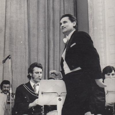 Jono Navakausko autorinis koncertas, dir. R. Balčiūnas. 1979 m.