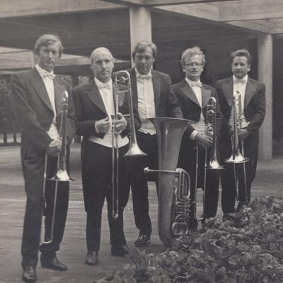Palanga 1973 m. Trombonų grupė