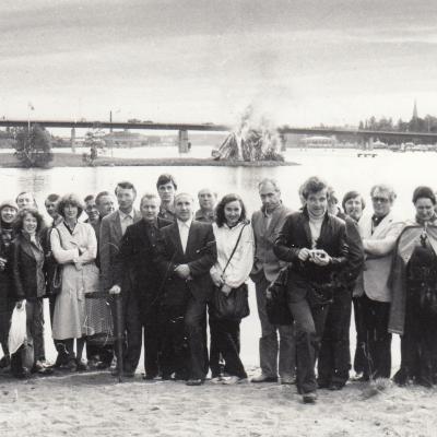 Suomijoje 1982 m.