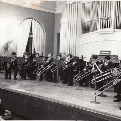 Trombonų vakaras Konservatorijoje 1981 m.