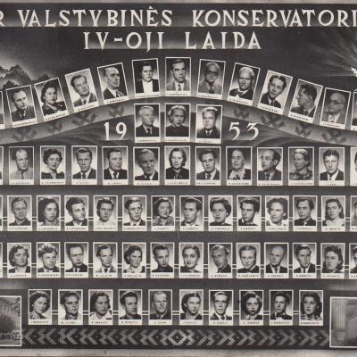 Valstybinės konservatorijos IV-oji laida