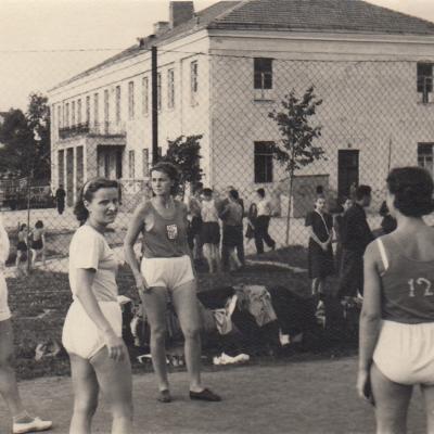 Operos ir baleto teatro moterų komanda. 1954 m.