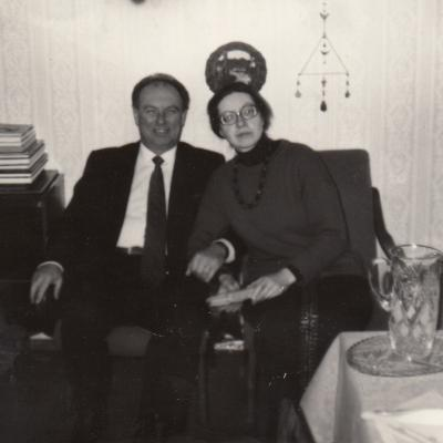 Su broliu Vytautu Viržoniu 1993 m.