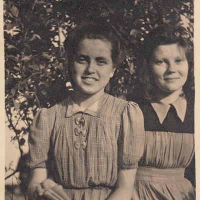 Su Vanda Galiniene 1946 m.