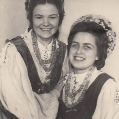 Su Stase Girčyte 1950 m.