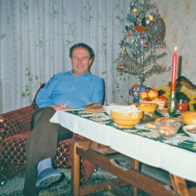 Kalėdos naujame bute 1974 m.