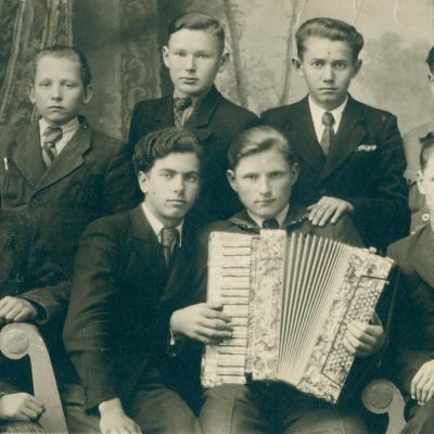 Krakių gimnazijos penktokai