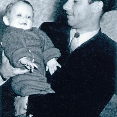 Su sūneliu Gintarėliu