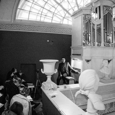 """Meistriškumo kursuose """"Bažnyčios vargonininkas – polifunkcinė kultūros figūra"""" atgijo senosios vargonavimo tradicijos"""