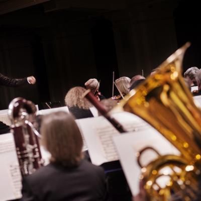 2014-03-22, Modestas Pitrėnas diriguoja LNSO, LNF archyvas, foto Dmitirijus Matvejevas