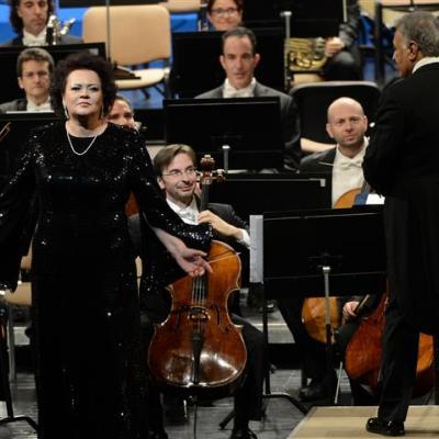 Zubin Mehta ir Violeta Urmana