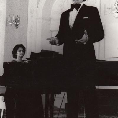 Koncertas Menininkų rūmuose 1988 m.