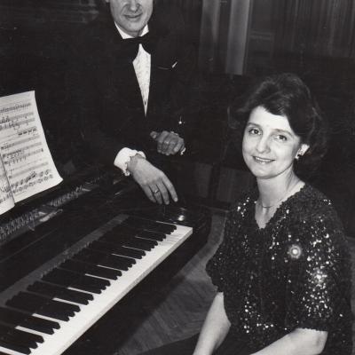 Koncertas Kauno filharmonijoje su vyru Vincentu Kupriu