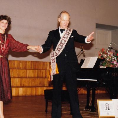 Koncertas Lietuvos muzikos ir teatro akademijoje kūrybinės veiklos 25-mečiui 1993 m.