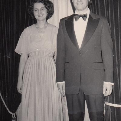 Po koncerto Los Andžele 1980 m.
