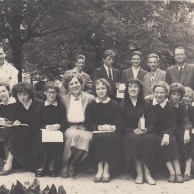 12 klasė. 1958 m.