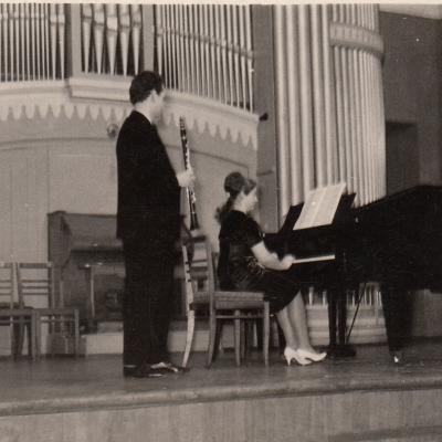 1963 m. su A. Budriu