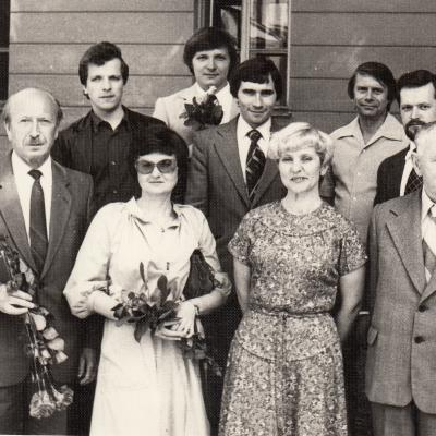 1983 m. Brazausko diplomantai