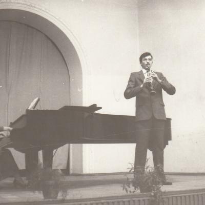Su Čiupkovu Tallat-Kelpšos mokykloje 1991 m.