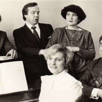 R. Maciūtė, Čiplys, Stulgys, Puišys Šilutėje 1988 m.