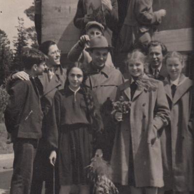 S. Sondeckio mokyklos orkestras 1957 m.