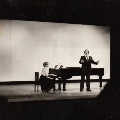 Su Čipliu 1988 m. Šilutėje