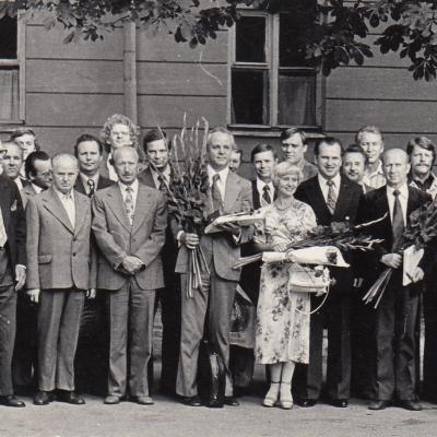 Susitikimas su Venglovskiu 1979 m.