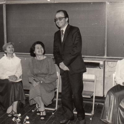 Su Vainilaičiu, Bajoryte 1987 m.