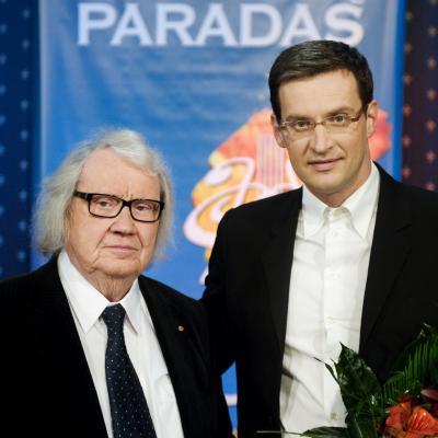 Juozas Domarkas ir Modestas Pitrėnas