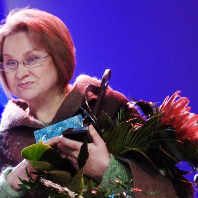 Auksinio disko 2012 laureatė Irena Milkevičiūtė