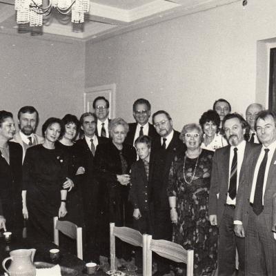 I Tarptautinio M. K. Čiurlionio pianistų konkurso žiuri. 1991 10 03