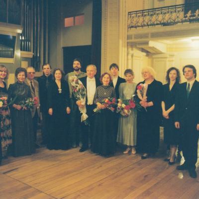 Pianistai su Sauliumi Sondeckiu