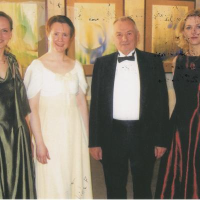 Kęstučio Grybausko pianistų kvartetas 2006-2009 m. sudėtis: V. Rindzevičiūtė, V. Badaitienė, L. Ambarcumian