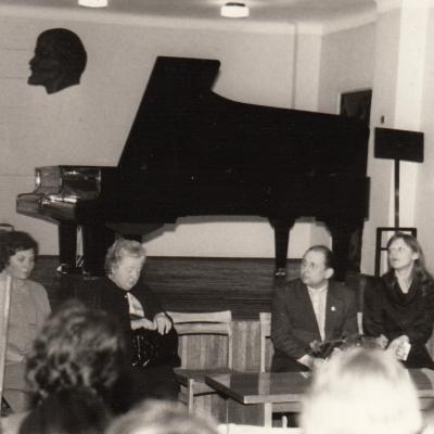 Seminaras Šiauliuose 1982 m.