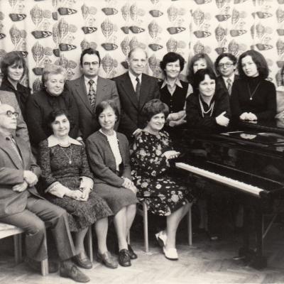 Spec. fortepijono katedra 1980 m.