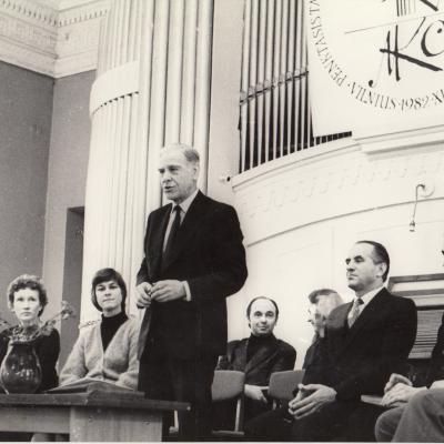 V M. K. Čiurlionio pianistų konkursas. 1982 m.