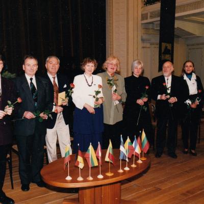 Tarptautinio S. Vainiūno konkurso žiuri 1996 m.