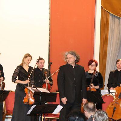 VDU Kamerinis orkestras Vilniaus rotušėje