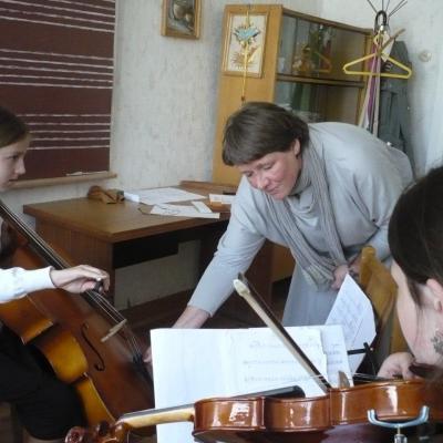 """Tarptautinė kūrybinė-edukacinė stovykla """"Muzikuokime drauge"""" Biržuose"""