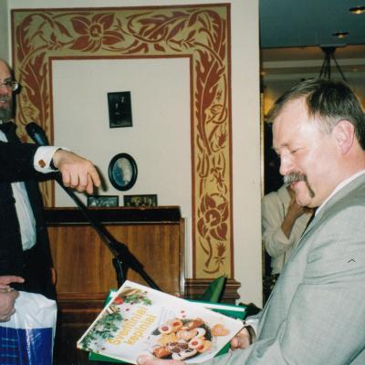 Su V. Gerulaičiu ir V. Bartuliu