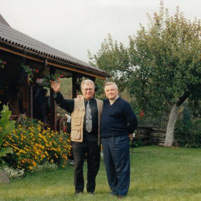 Vizgirdų sodyboje 2001 09 23