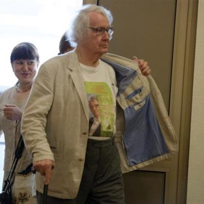 Susitikimas: marškinėliai tiko! Su gimtadieniu, Maestro! Foto Martynas Aleksa