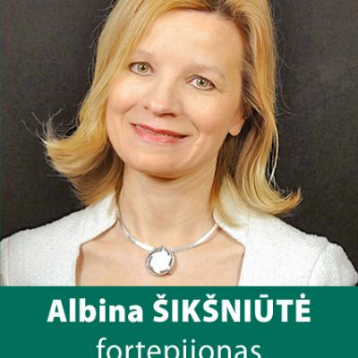 ALBINA ŠIKŠNIŪTĖ