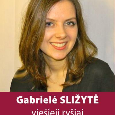 GABRIELĖ SLIŽYTĖ
