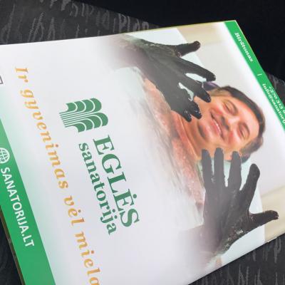 BVMA 2017 ŽENKLAI: leidiniai; EGLĖS SANATORIJA