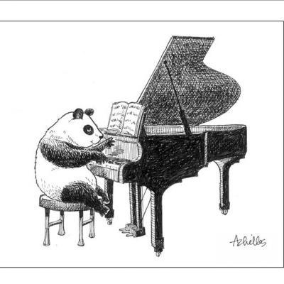 Nebūk panda, nemiegok - registruokis į Birštono vasaros menų akademiją!